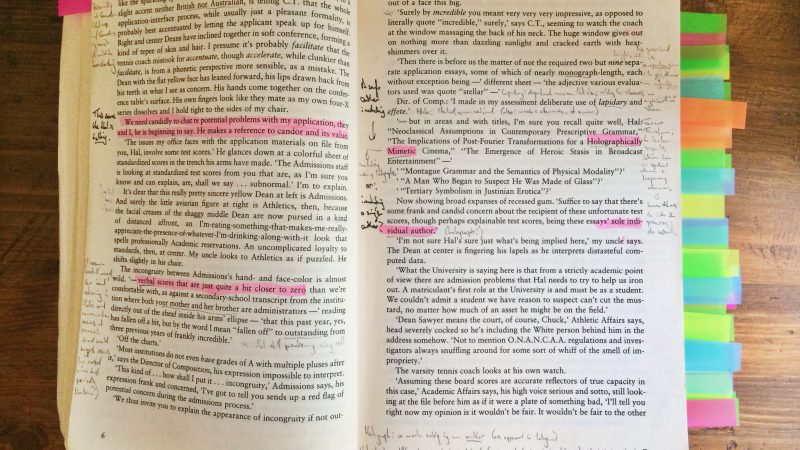 Annotated Infinite Jest