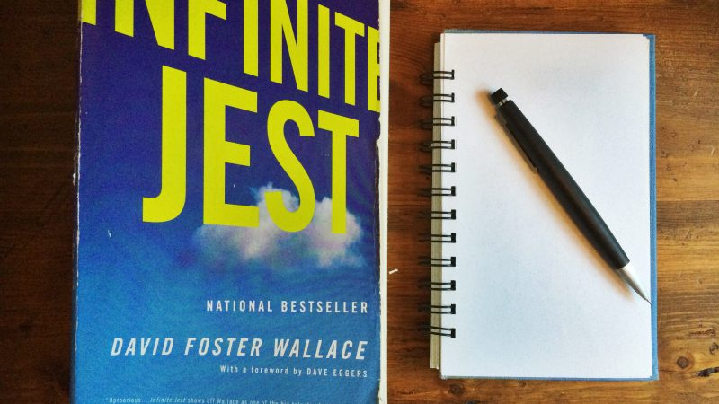 drawing Infinite Jest